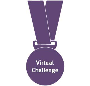 Virtual Challenge medal graphics