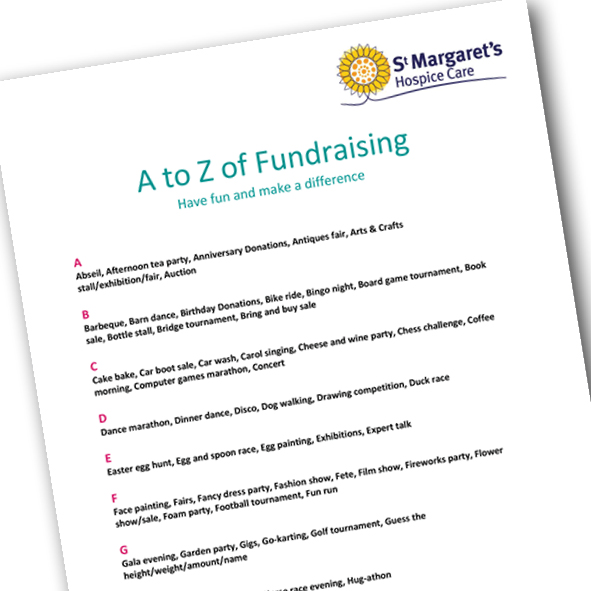 a-z of fundraising