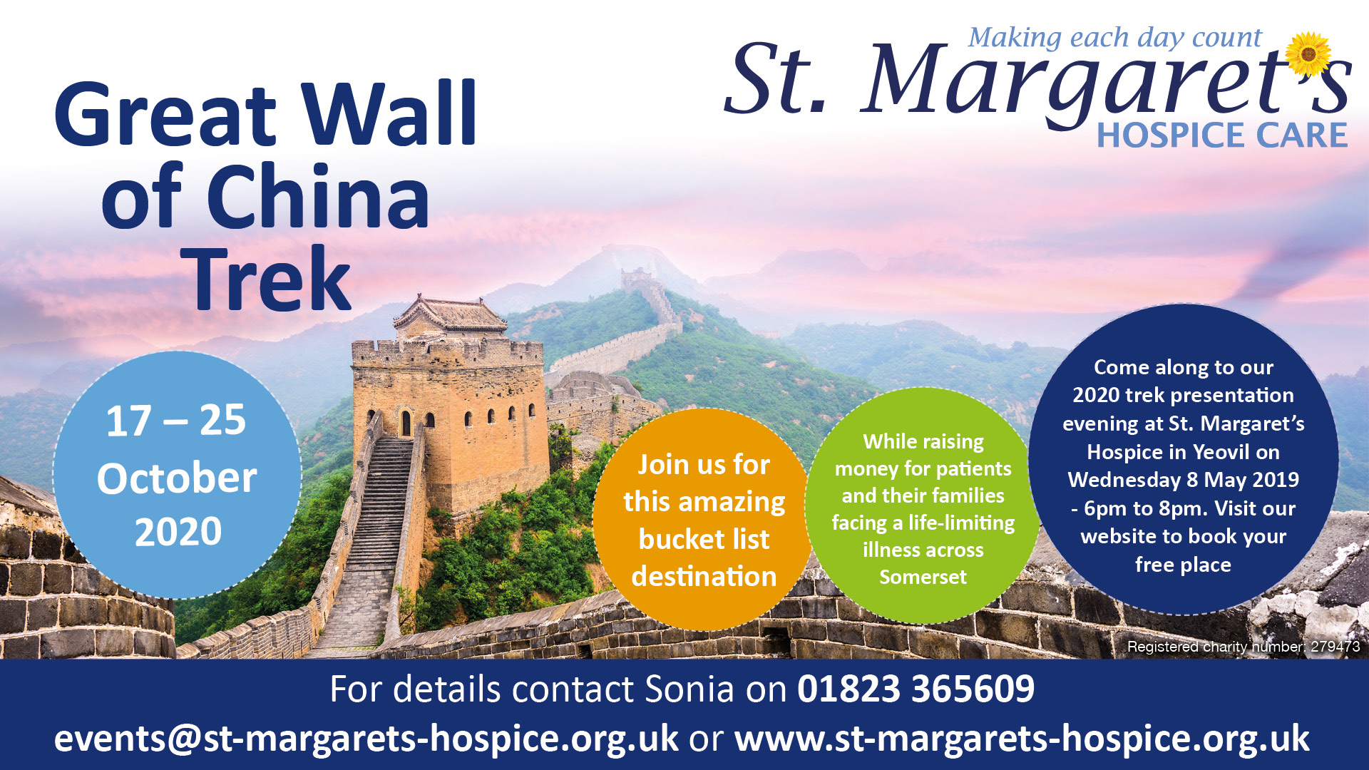 Great Wall of China Trek 2020